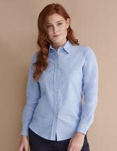 Ladies Classic Long Sleeved Oxford Shirt