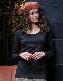 Ladies Fashion Stretch Long Sleeve Extra Lenght